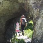 Alte Wasserleitungen im Fels