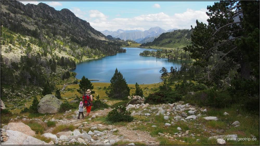 Ein See wie aus dem Bilderbuch - Lac d'Aumar