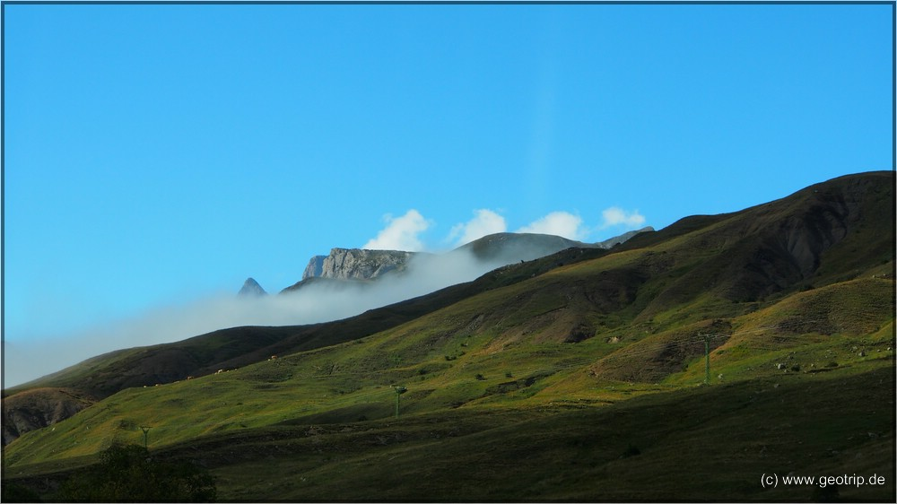 Hoch oben am Pyrenäenhauptkamm