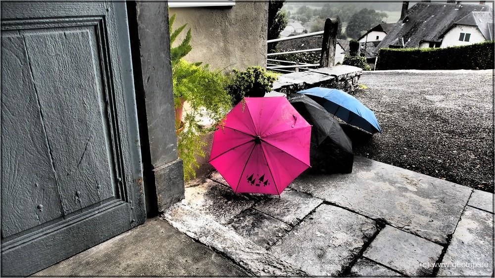 wie gesagt - es regnet