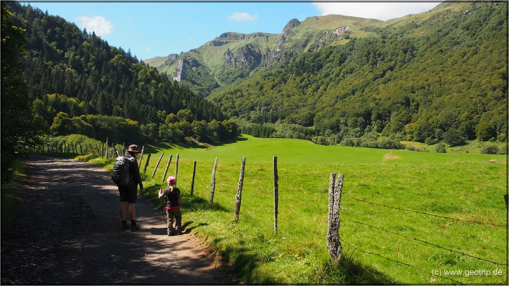 Mal wieder: Los gehts, diesmal in der Auvergne