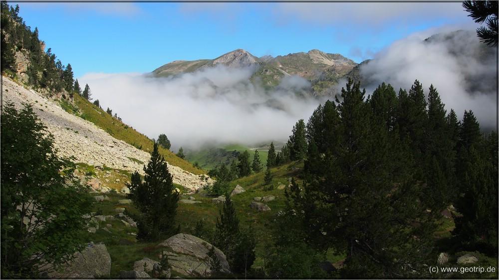 Der Blick zurück - mit Wolke
