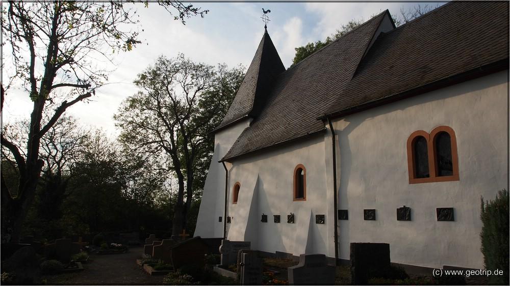 Weinfelder Kirche - Weinfeld gibts aber nicht mehr