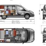Wohnmobil Selbstausbau: Citroen Jumpy (VW Bus Größe)