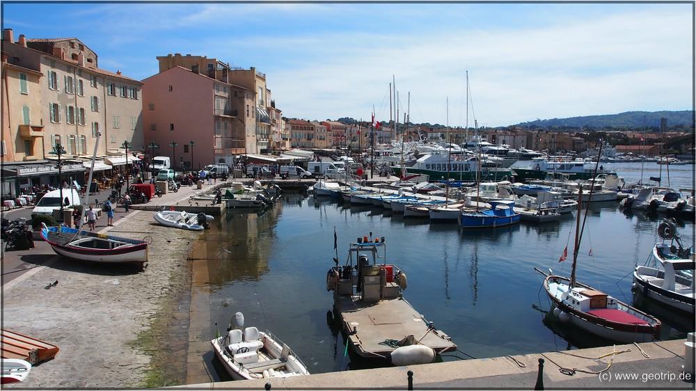 St Tropez - Selbst in der Nebensaison ist hier was los