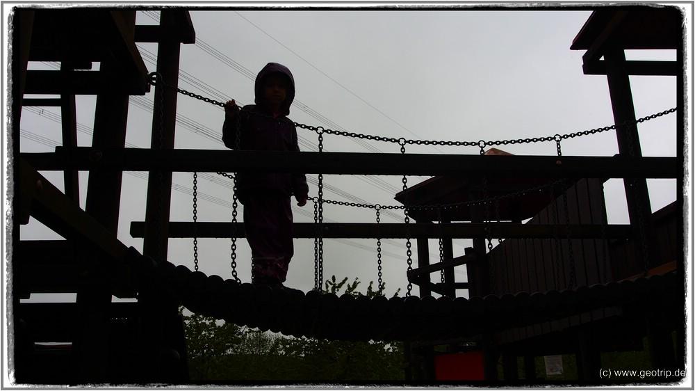 Abenteuer im Regen