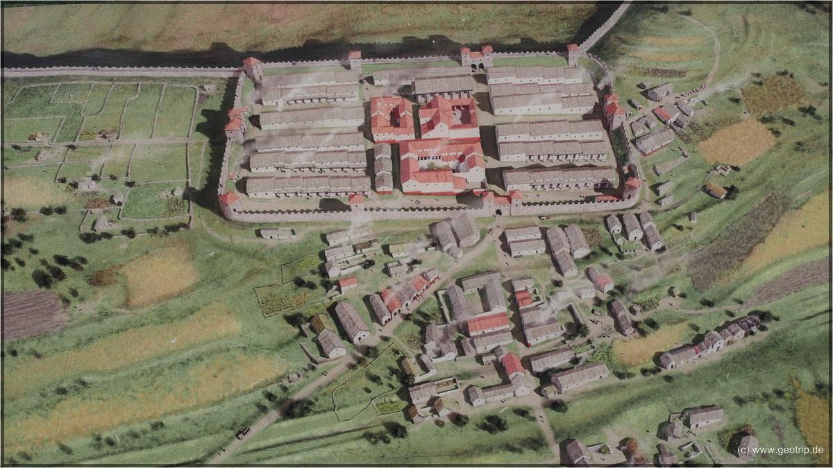 So sah das Fort mal aus