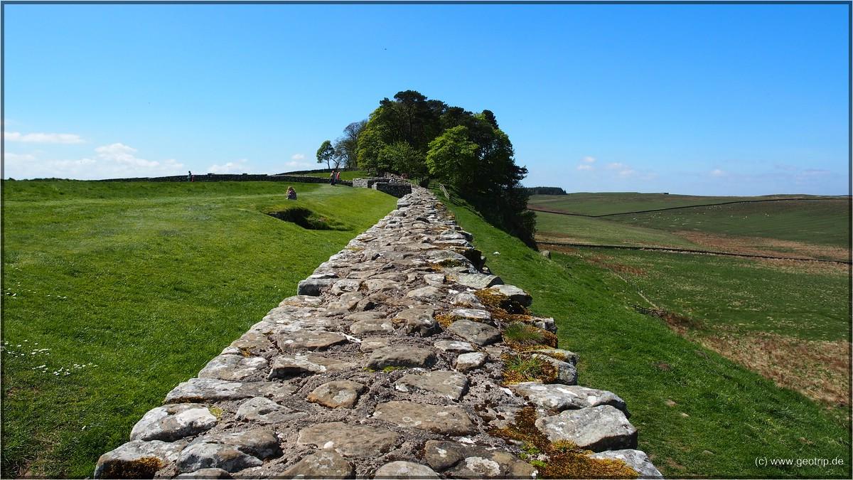 Die eigentliche Attraktion - Hadrians Wall