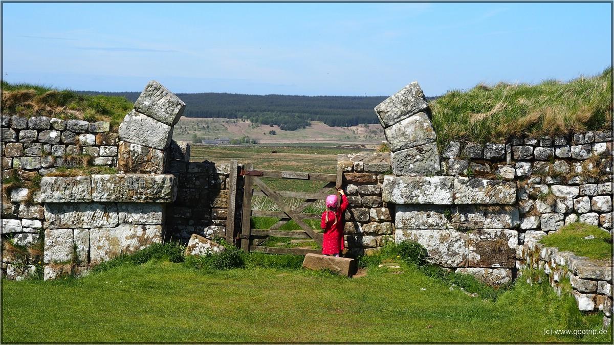 Ein Milestonecastle - errichtet an jeder römischen Meile