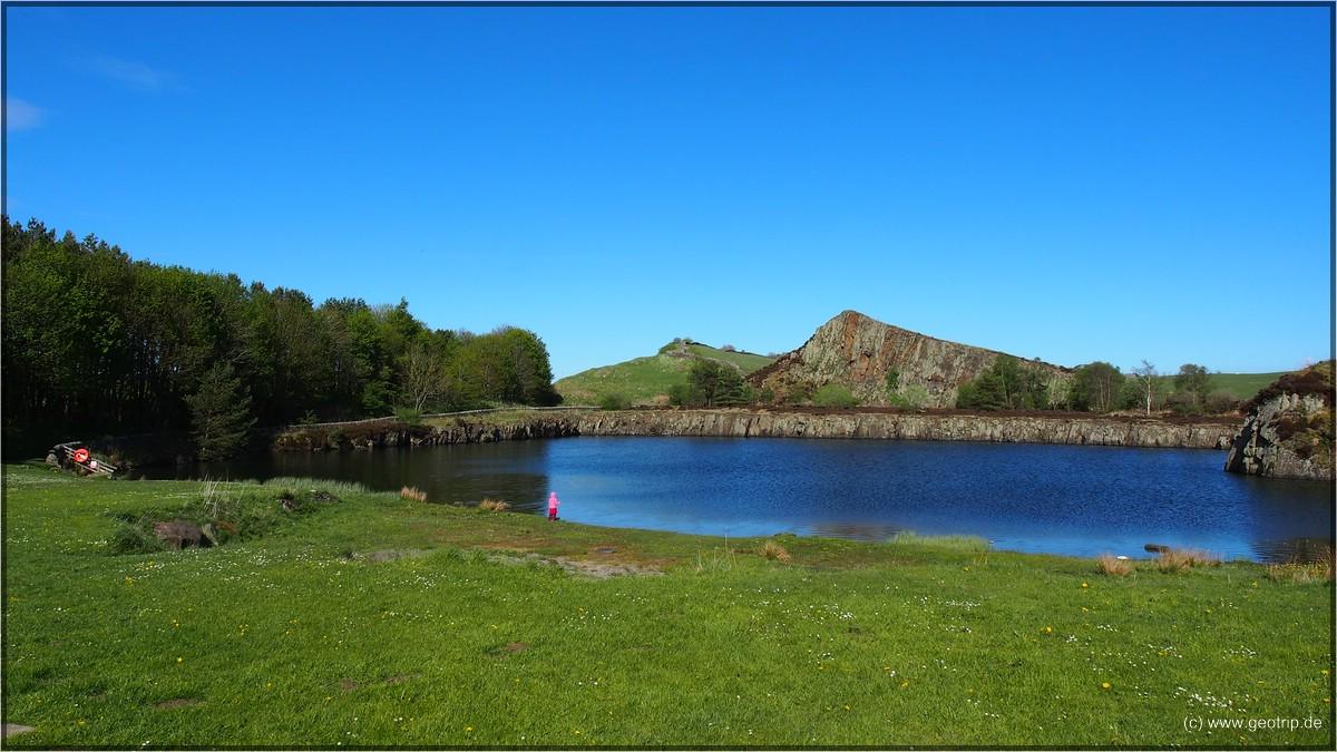 Der See war ein Steinbruch der Römer