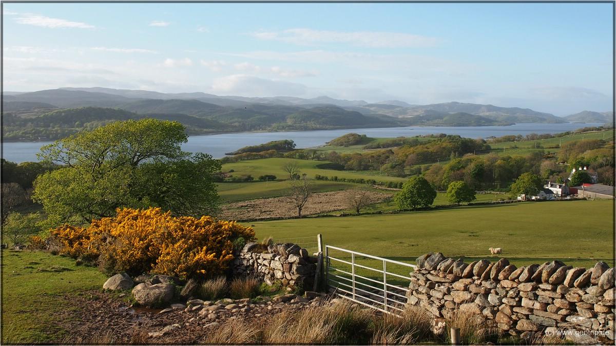 Schön ist es in Schottland