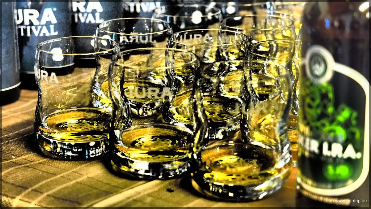 schöne Gläser, auch wenn ich Glencairns bevorzuge