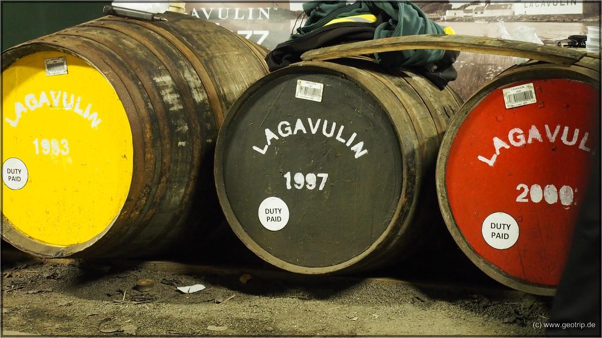 Die Whiskies jünger, die Portionen kleiner - Lagavulin never again