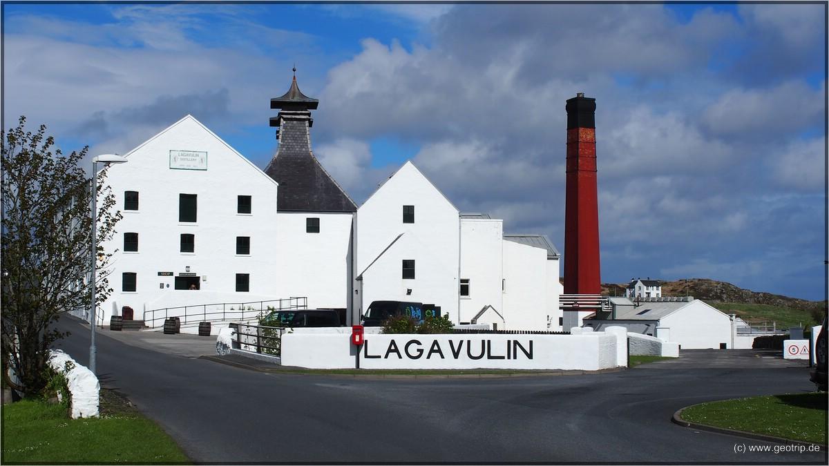 Insel und Destillerie- Wechsel - Lagavulin again