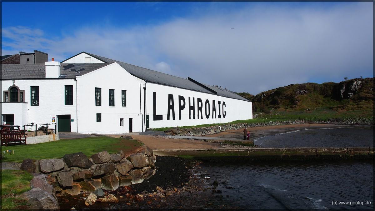 Laphi ist einfach die schönste Destille - ja auch schöner als Strathisla find ich!