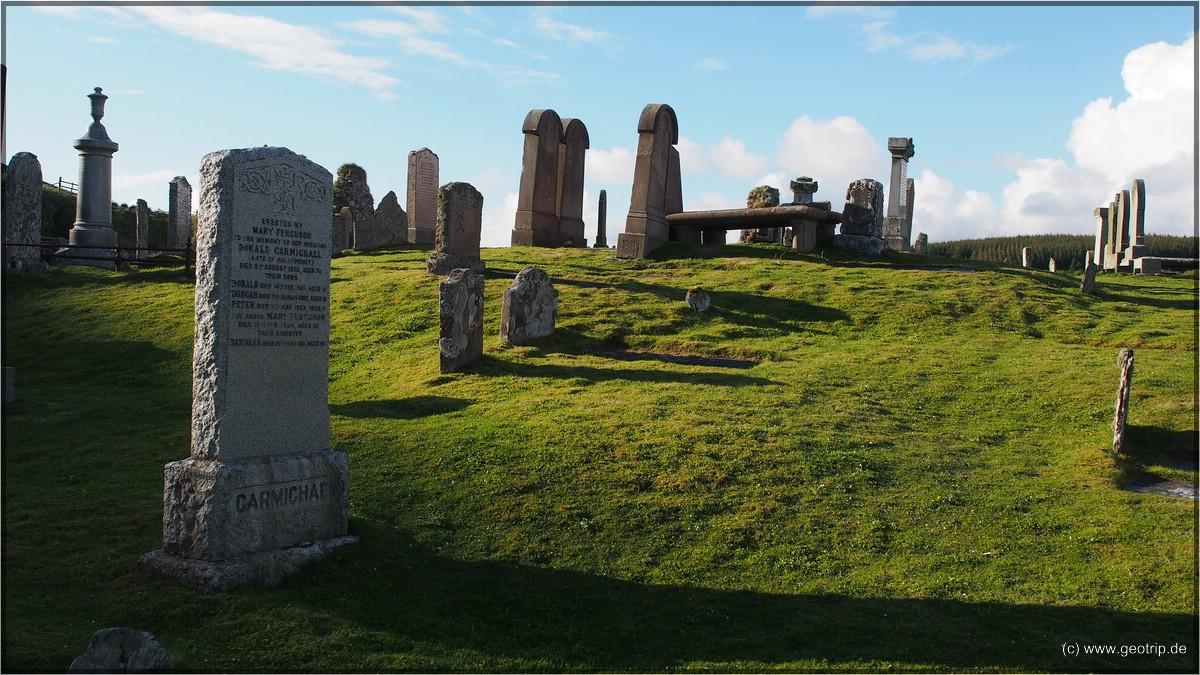 Schönes Licht, uralter Friedhof - eine tolles Zusammentreffen