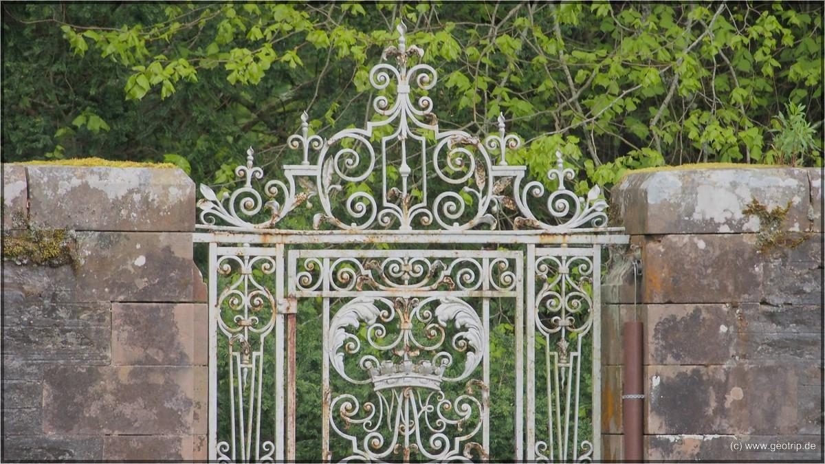 Das Tor zum Hercules Garden