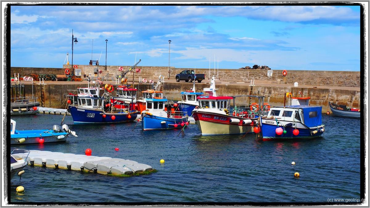 Hier wird der Hafen noch genutzt