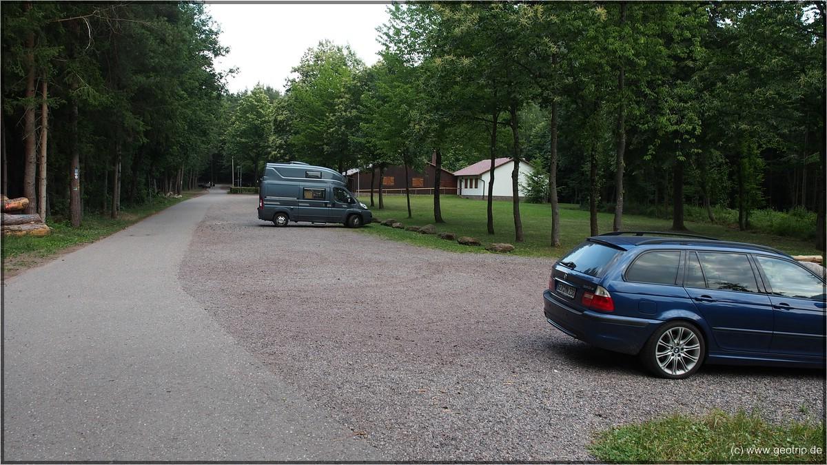 Stellplatz Drachenfelshütte
