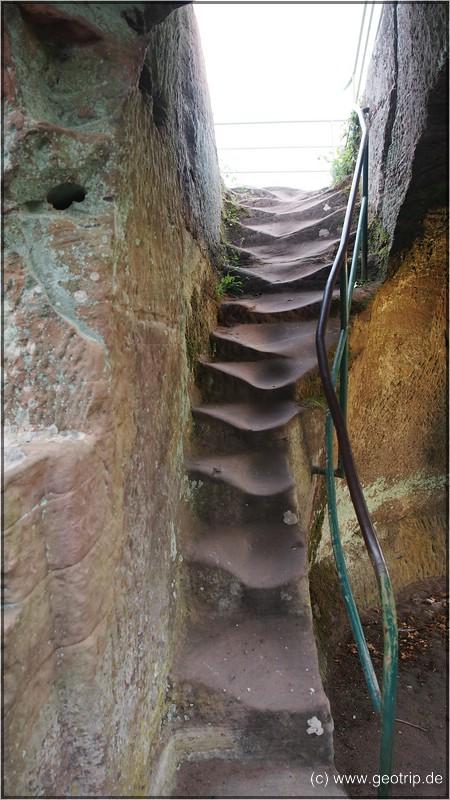 die letzten Stufen!