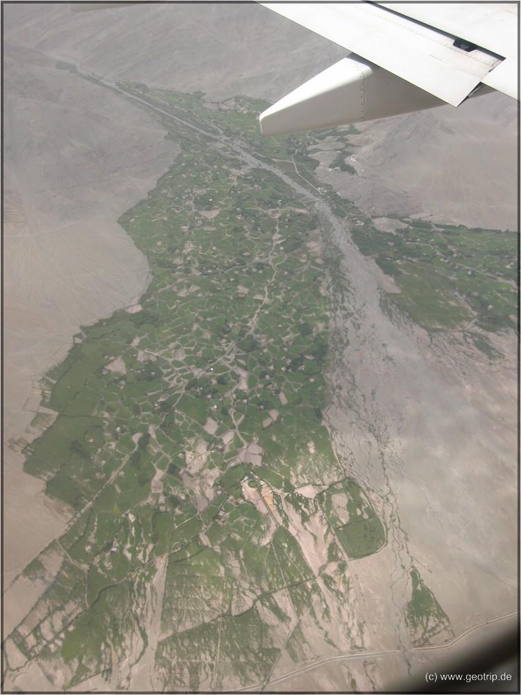 Die Taloase des oberen Indus