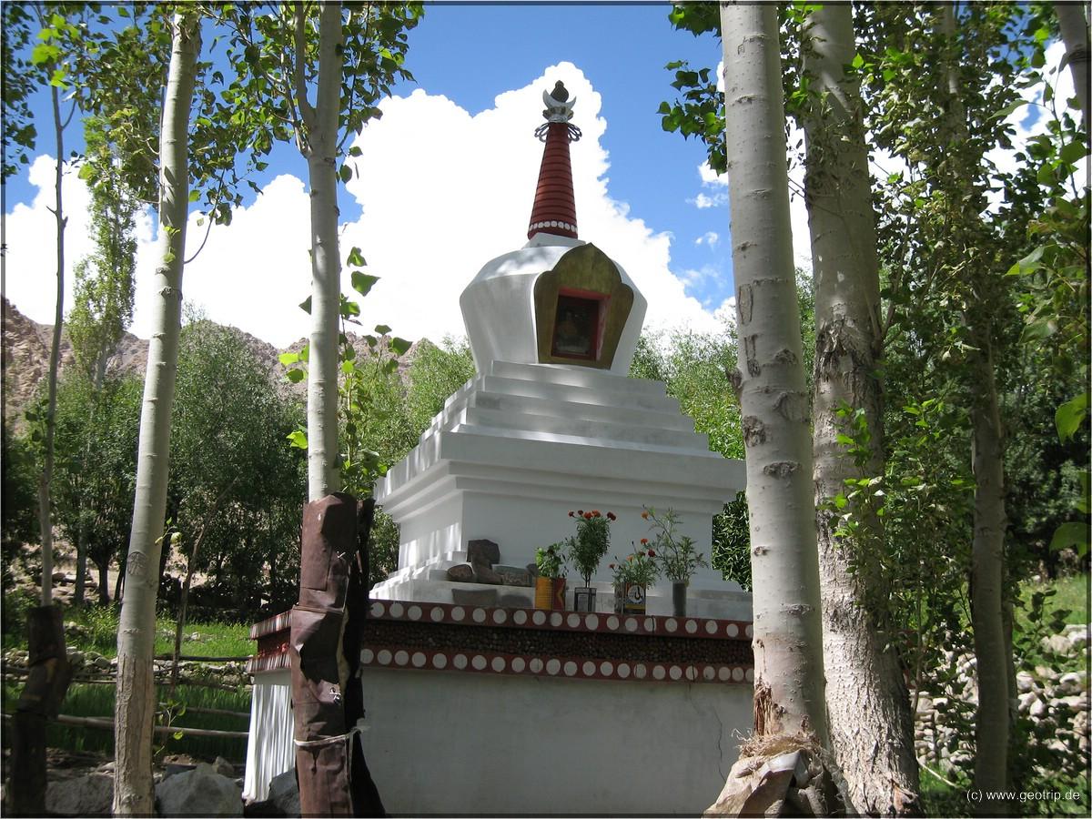 Stupas - Zeitreisekapseln