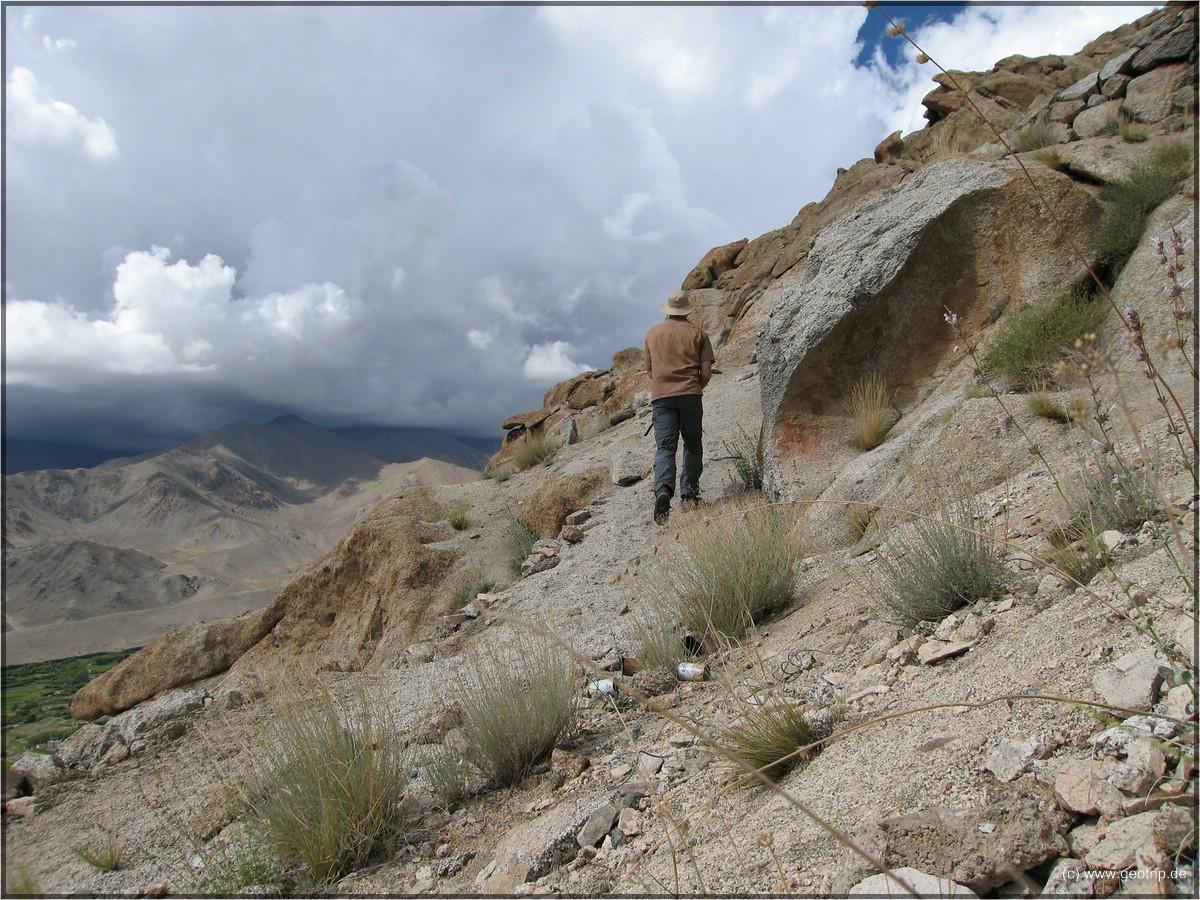 Felsen, die das Geographenherz höher schlagen lassen