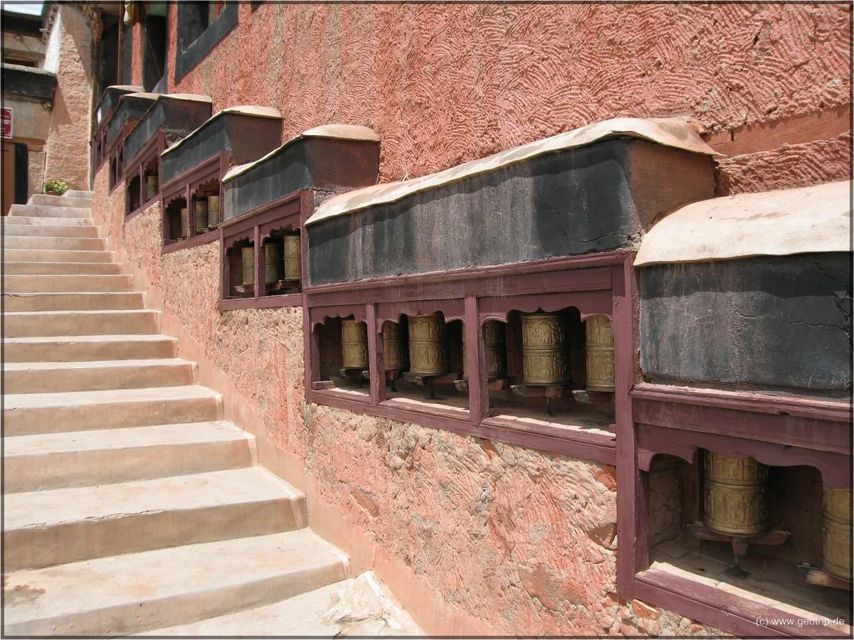 Auch allgegenwärtig - Gebetsmühlen