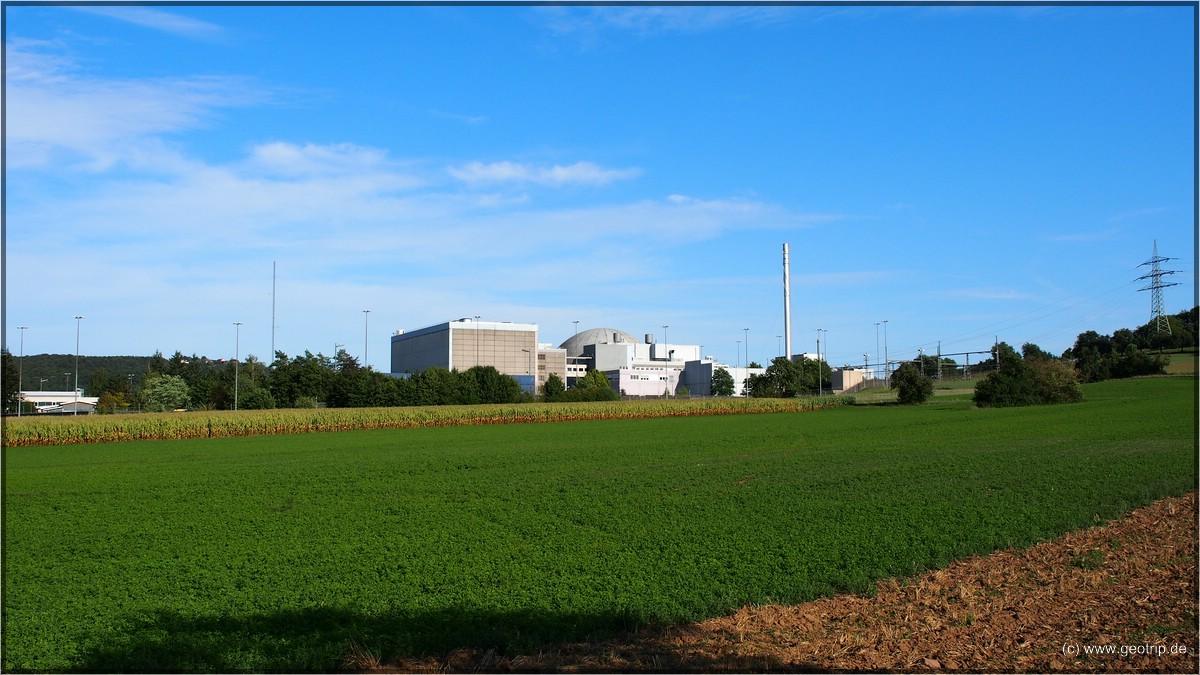 Idyllisch - Kernkraftwerk