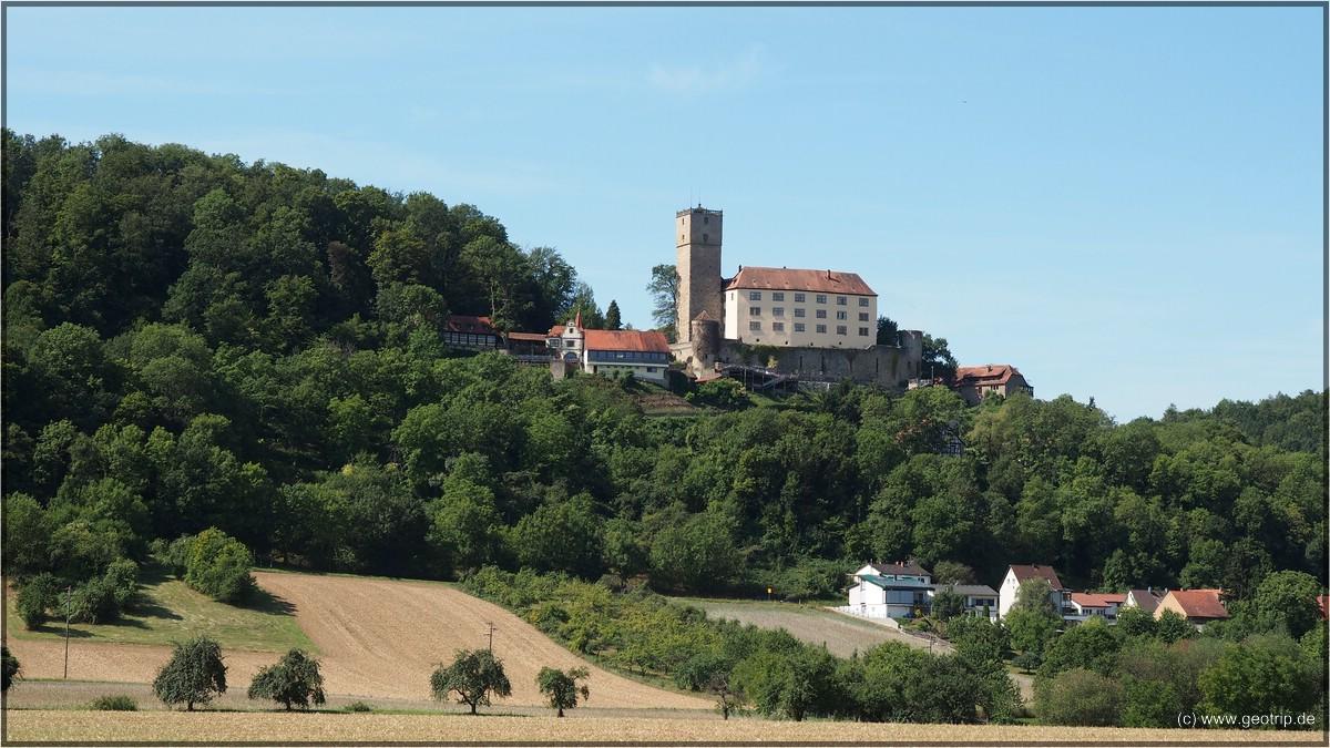 Burg Guttenberg - unser Ziel