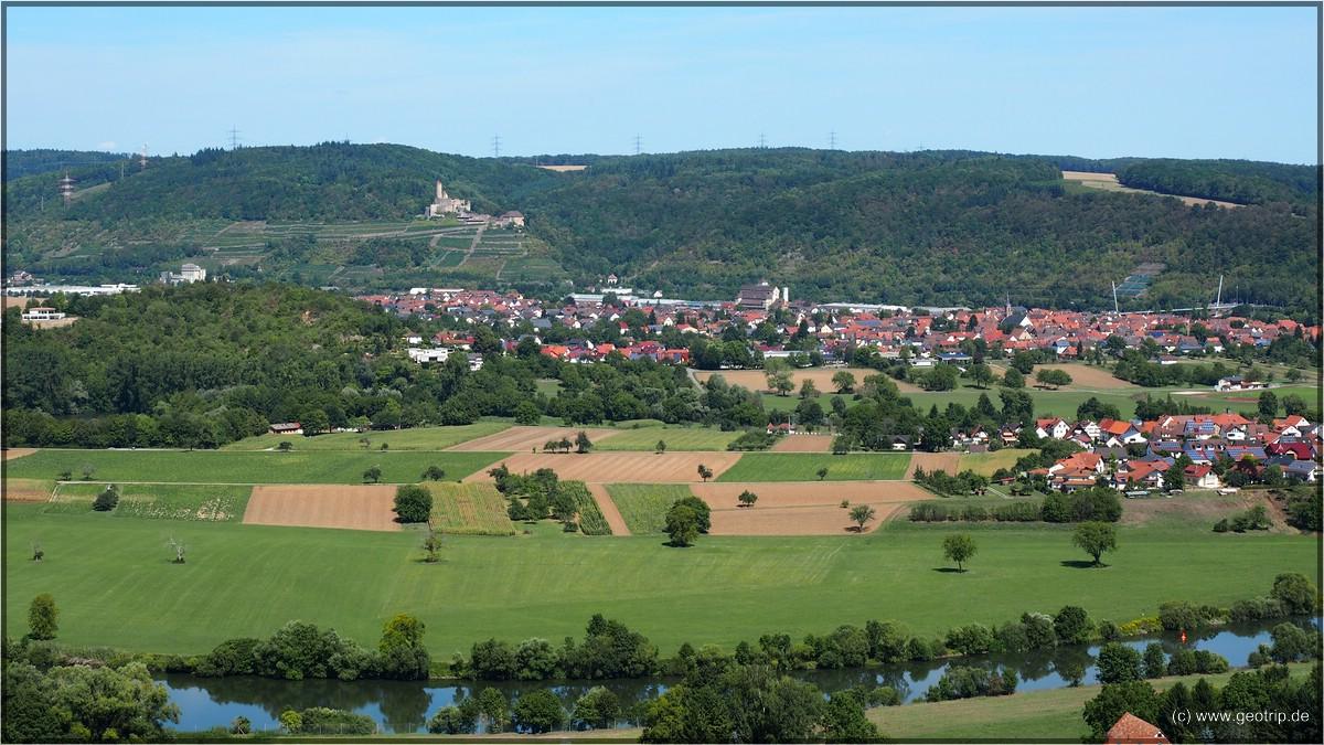 Blick vom Bergfried