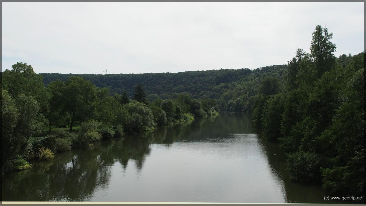 Durchaus idyllisch hier am  Neckar