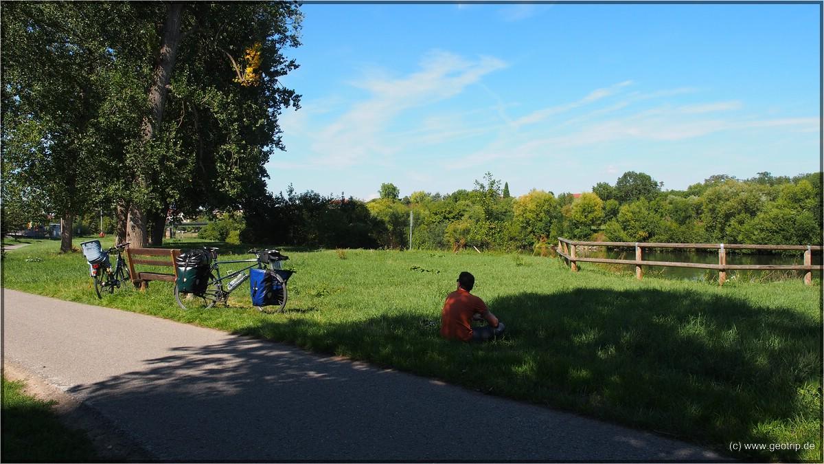 viele Kilometer weiter kurz vor Bad Wimpfen