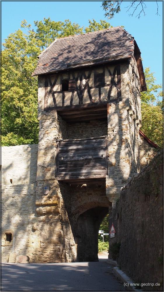 Nordtor der Burg Hornberg