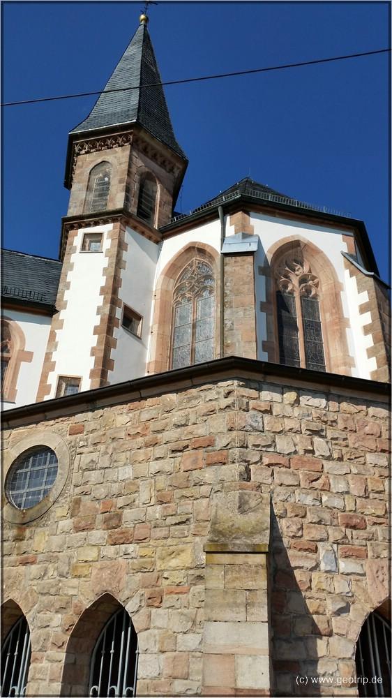 Etappenziel St. Anna Kapelle