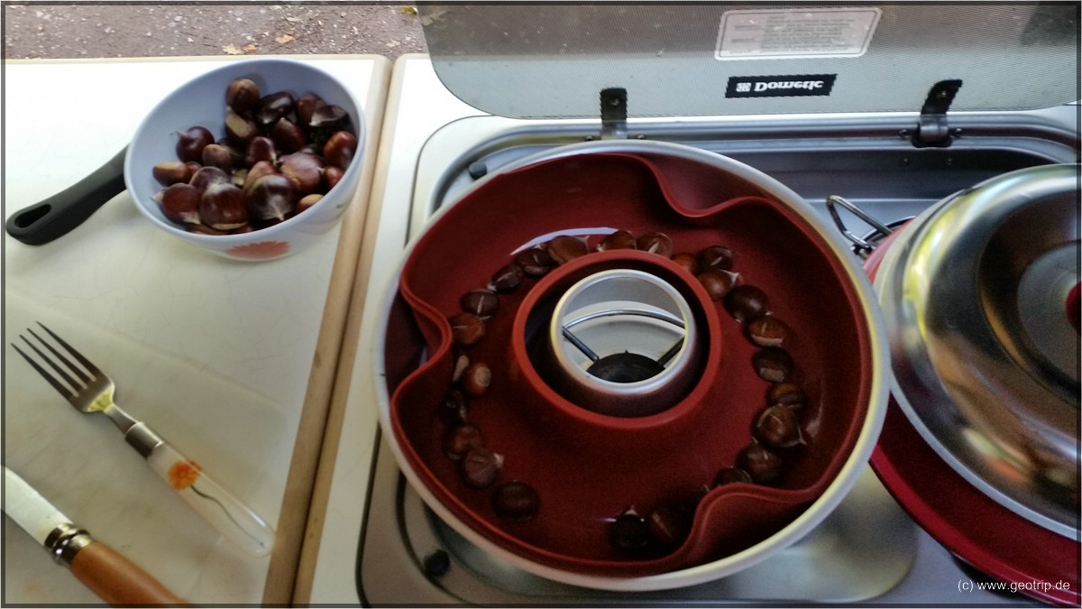 Test bestanden- schmackhafte Maronen aus dem Omnia