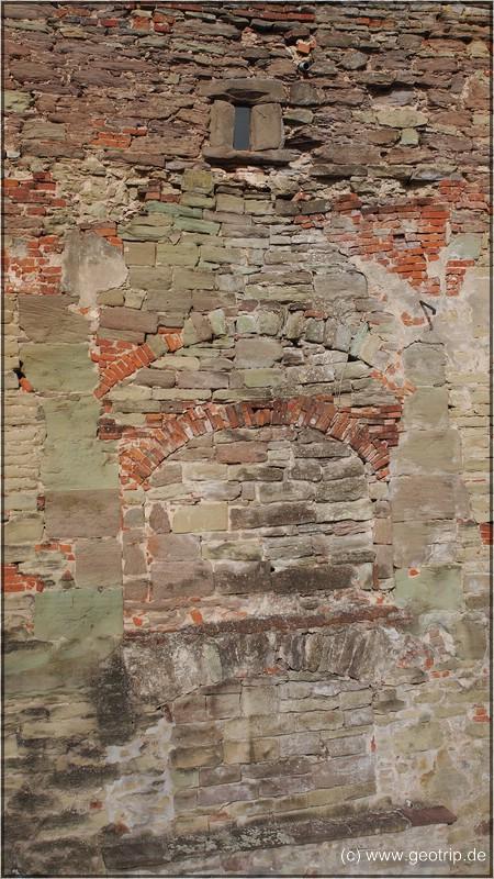 Die Mauer hat schon 'einige' Umgestaltungen mitgemacht