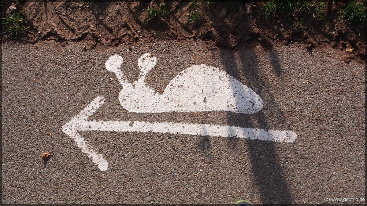 Schneckenweg, genau das richtige für uns und unser Wandertempo