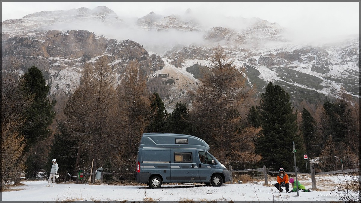 Camping im Engadin