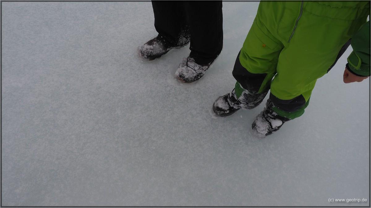 Eis und Schnee - wollten wir doch!