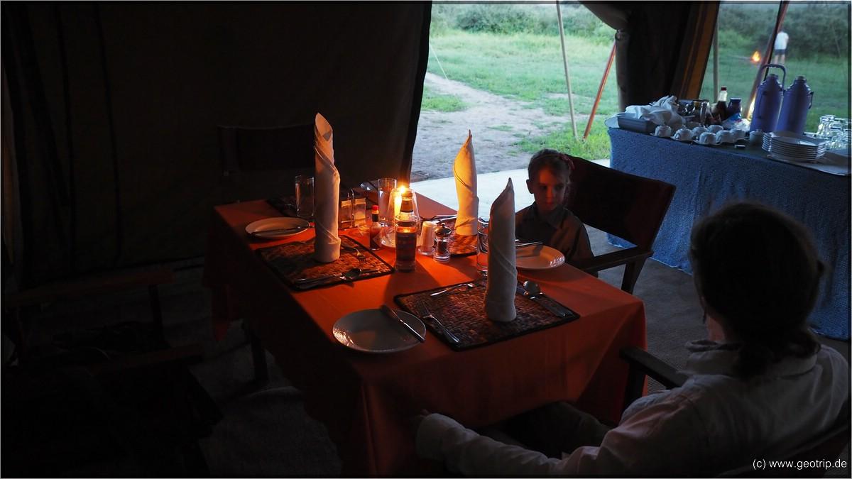 Luxus Abendessen