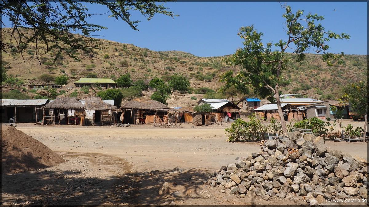 Wir besuchen das Dorf