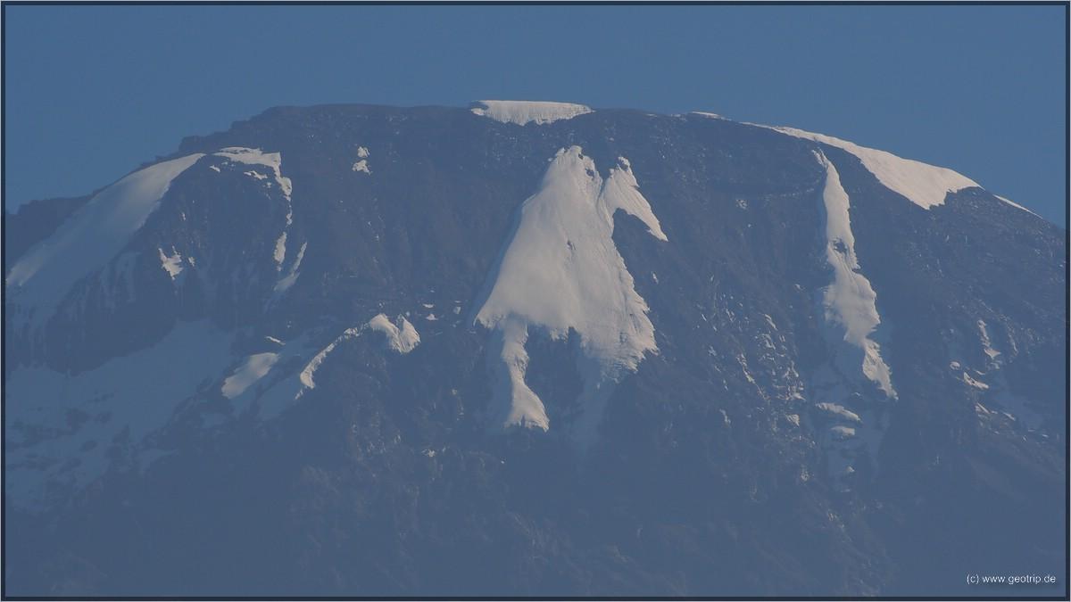Abschied - die Gletscher werden es übrigens nicht mehr lange machen