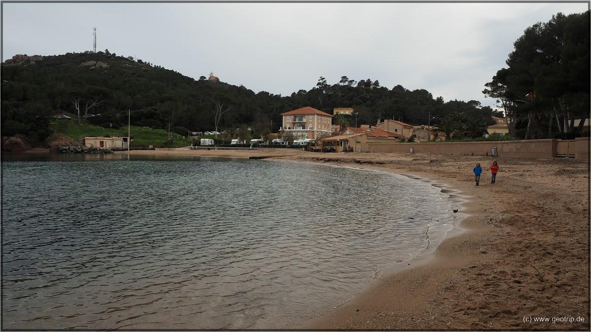 Einkehr am Strand