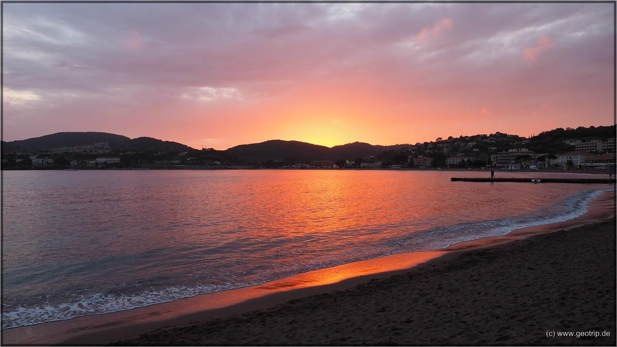 Mal wieder ein schöner Sonnenuntergang