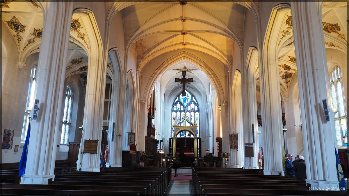 Die 'Cathedral', von innen deutlich größer als von aussen