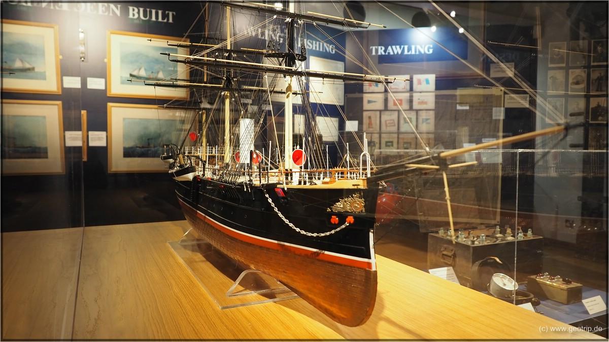 Was man so erwartet im Maritime Museum...