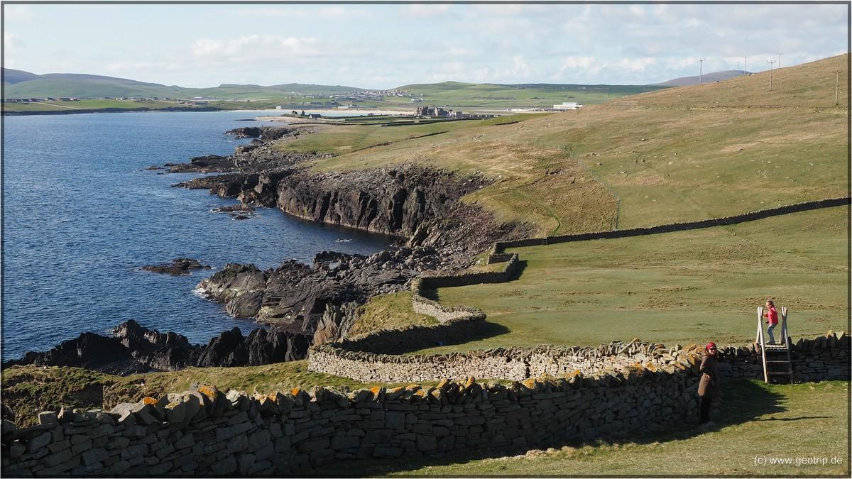 Südspitze der Shetlands