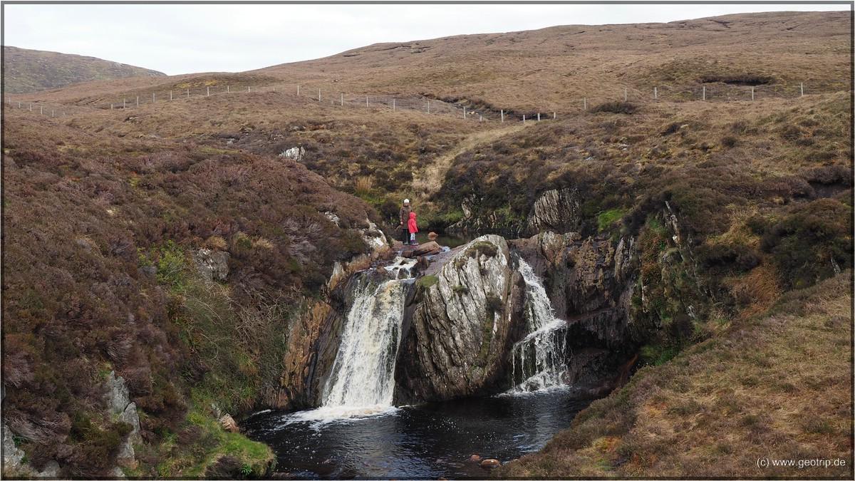 Der Wasserfall - echt hübsch