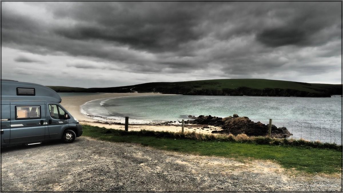 Stellplatz St Ninians Isle